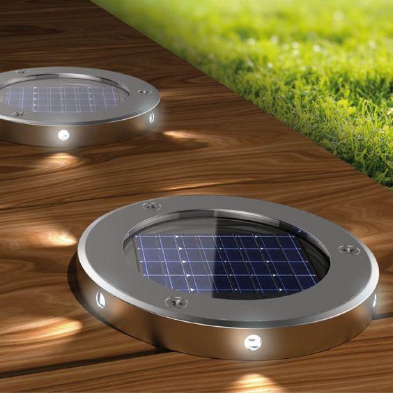choisir spot solaire encastrable terrasse