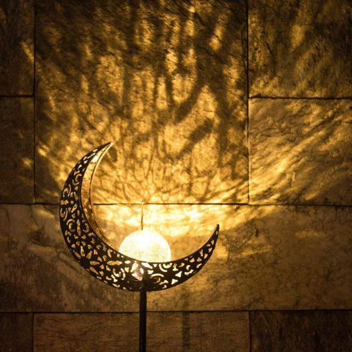 lampe solaire lune éclairage