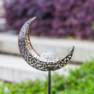 lampe solaire lune jardin