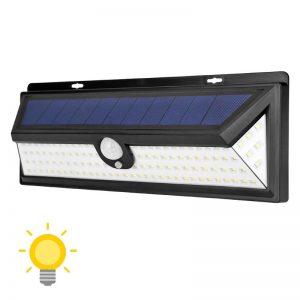 Applique murale solaire avec détecteur de mouvement