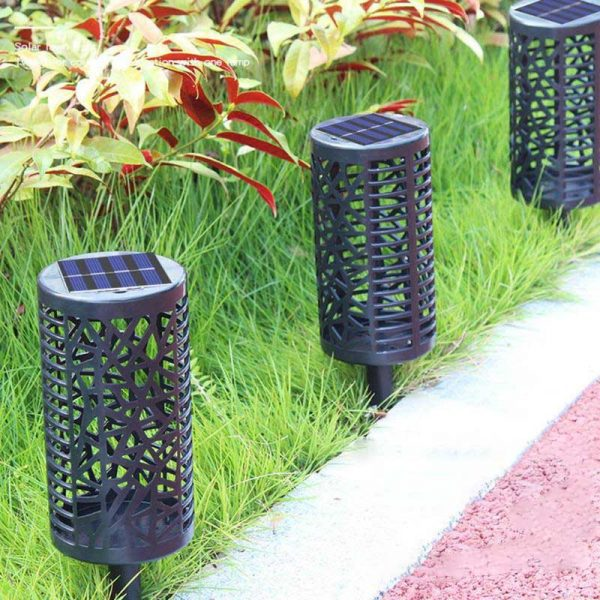 Lampe solaire extérieur couleur changeante jardin