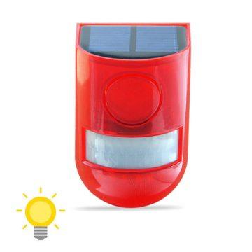 alarme solaire sans fil extérieur