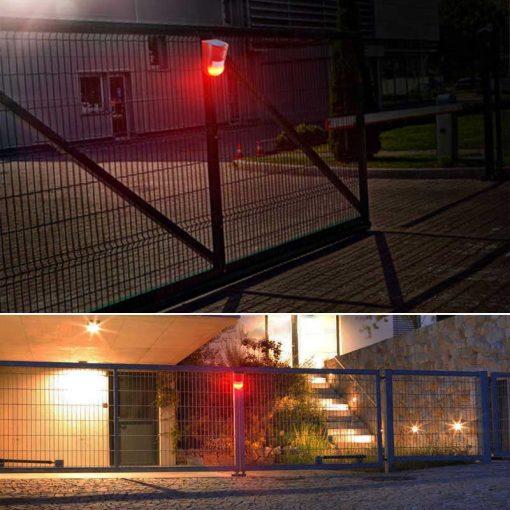 alarme solaire sans fil extérieur pas cher