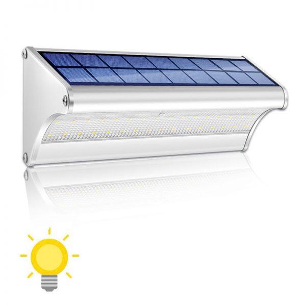 Applique extérieur design solaire
