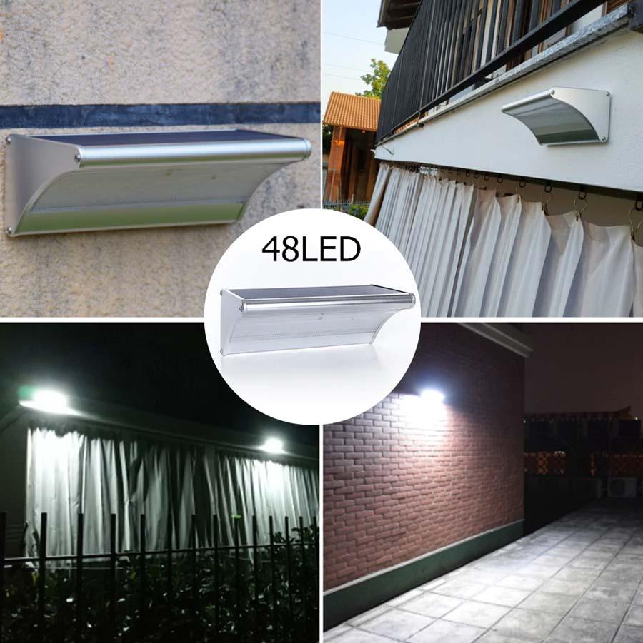 Eclairage Exterieur Mural Puissant applique solaire extérieur design - luminaire solaire