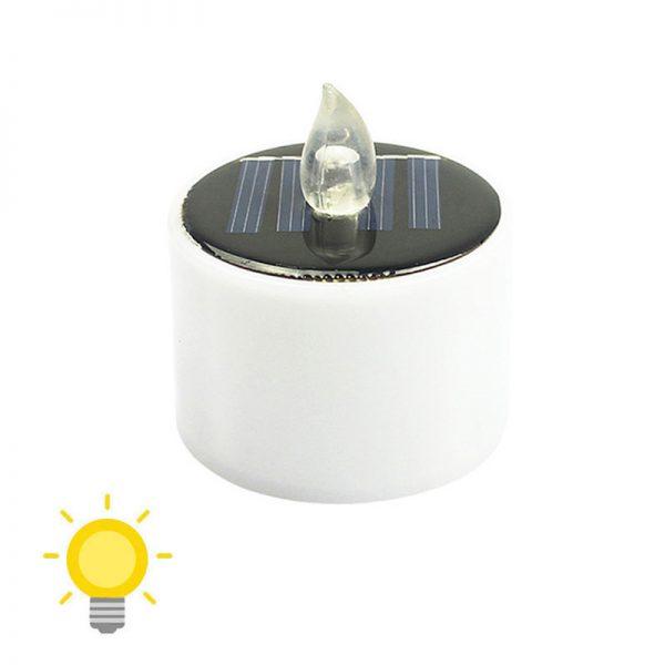 bougie solaire intérieur