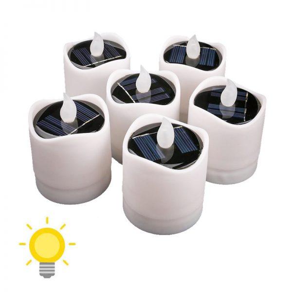bougie led solaire extérieur
