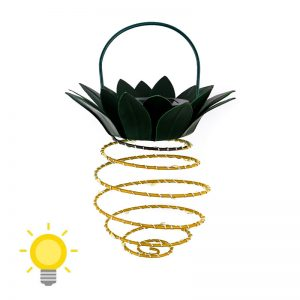 lampe solaire ananas