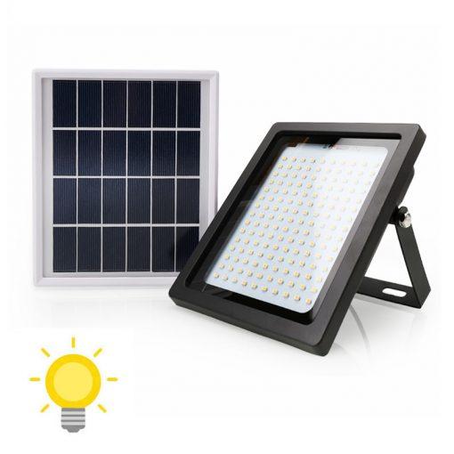 lampe solaire avec panneau déporté
