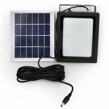 lampe solaire avec panneau déporté garage