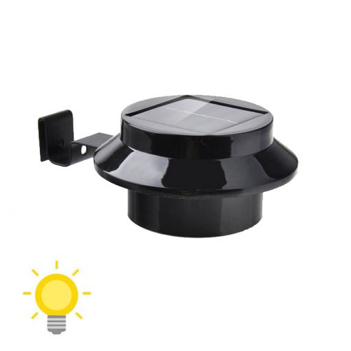 lampe solaire de gouttiere