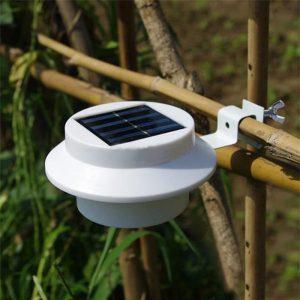 lampe solaire gouttiere éclairage