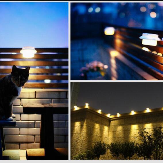 lampe solaire gouttiere pas cher