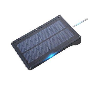 Lampe solaire extérieur avec télécommande panneau photovoltaïque