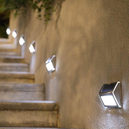 lampe solaire marche escalier led