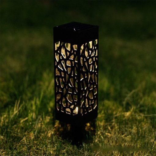 lampe solaire pour allée étanche