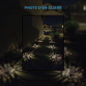 lampe solaire pour allée jardin