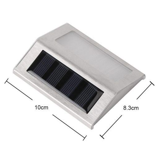 lampe solaire pour marche escalier dimensions