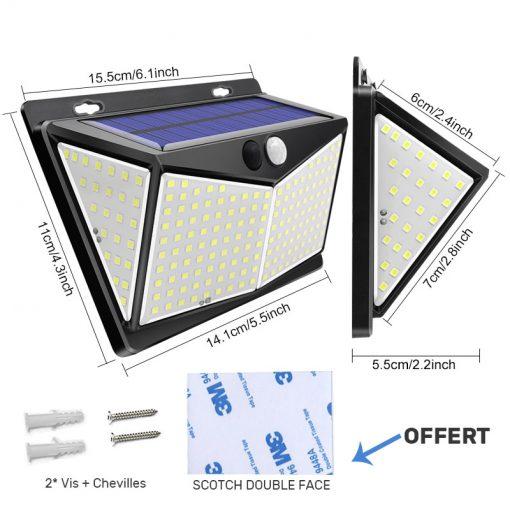 lampe solaire pour mur exterieur maison