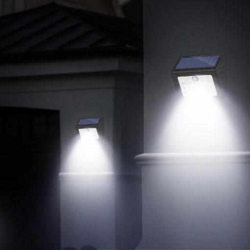 lampe solaire puissante avec capteur de mouvement