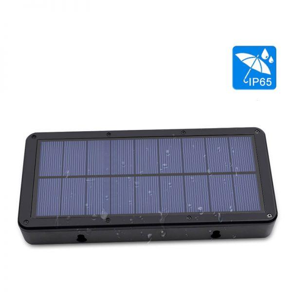lampe solaire rectangulaire étanche