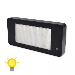 lampe solaire rectangulaire