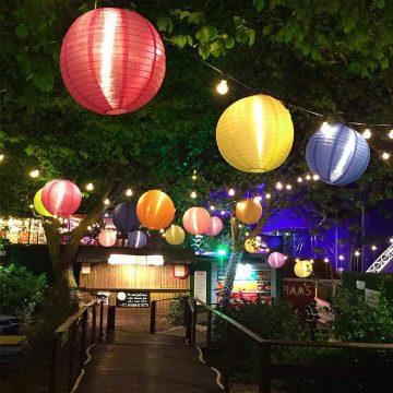 lanterne chinoise solaire éclairage