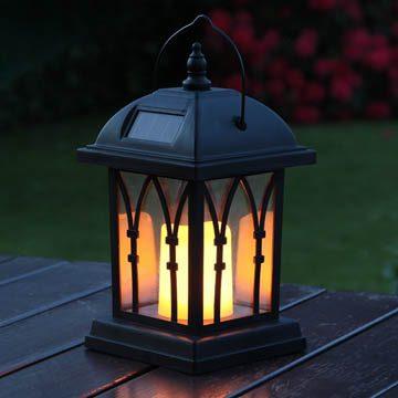 choisir lampe solaire lanterne de décoration