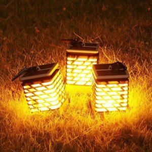 lanterne solaire à suspendre extérieur