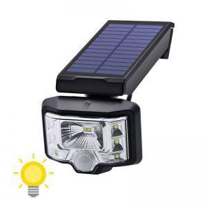 Luminaire solaire extérieur puissant
