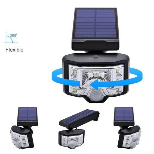 Luminaire solaire extérieur puissant pas cher