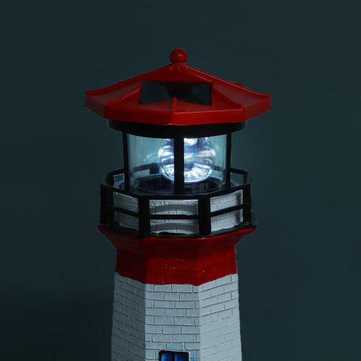 phare solaire de jardin led