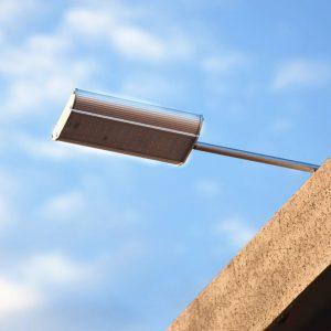 Projecteur solaire puissant avec telecommande pas cher