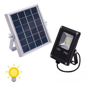 Projecteurs solaires 1000 lumens avec télécommande