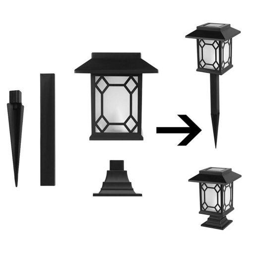 lampe solaire décorative jardin a poser ou a planter