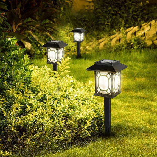 lampe solaire décorative jardin pas cher