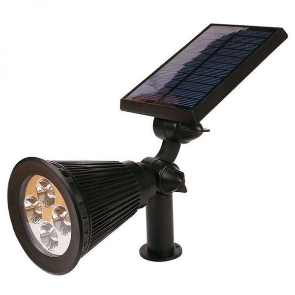 spot solaire a planter éclairage