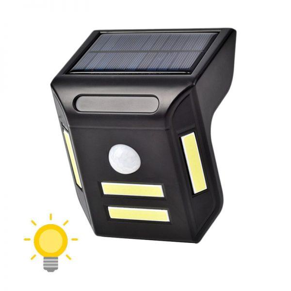 Applique solaire LED à détecteur de mouvement