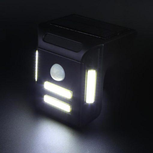 Applique solaire LED à détecteur de mouvement jardin