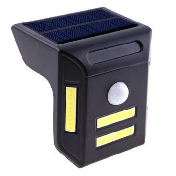 Applique solaire LED à détecteur de mouvement pas cher