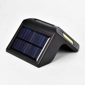 Applique solaire LED à détecteur de mouvement photovoltaïque