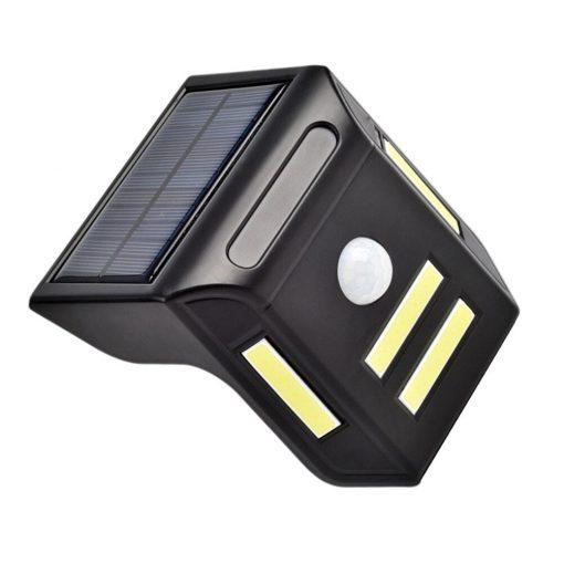 Applique solaire LED à détecteur de mouvement puissante