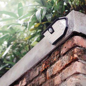 Lampe à LED solaire imperméable sans fil exterieur
