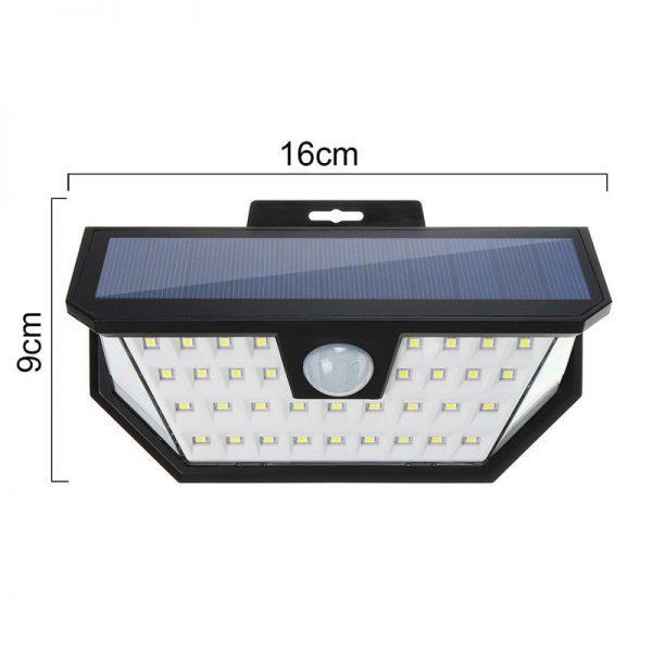Lampe à LED solaire imperméable sans fil puissante