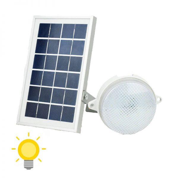 Applique murale extérieur solaire sans détecteur