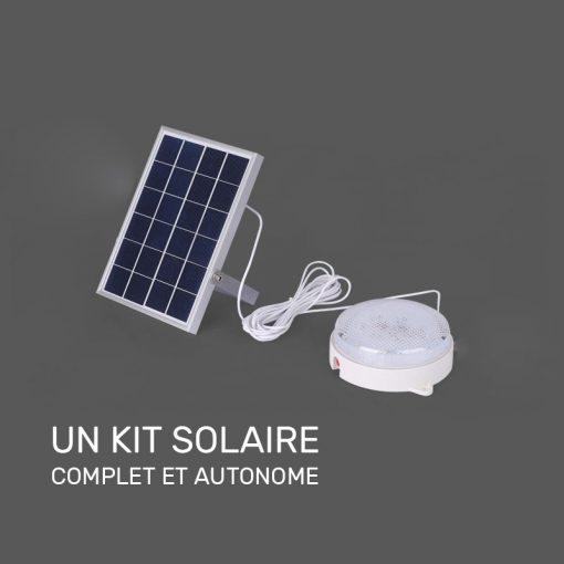 Applique murale extérieur solaire sans détecteur terrasse