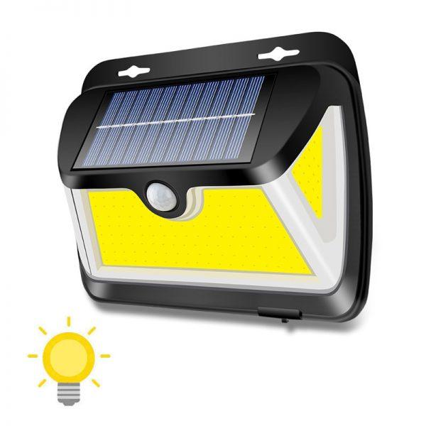applique solaire à détection