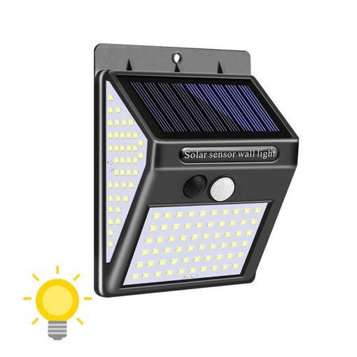 Applique solaire extérieur à détection