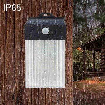 applique solaire terrasse ip65