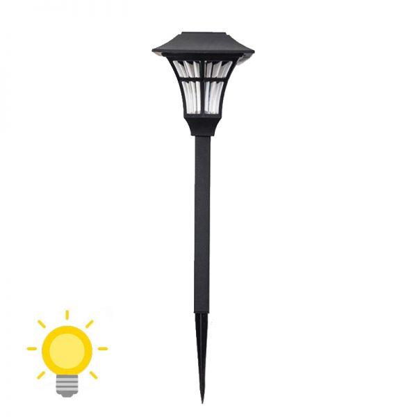 Balise LED solaire extérieur